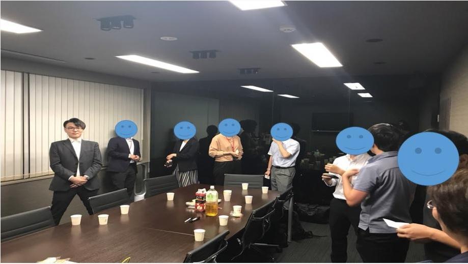 初開催!! 弊社オフィスでの交流会